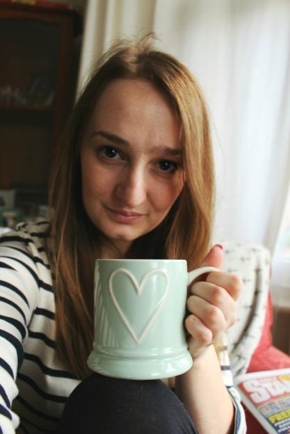 me with tea
